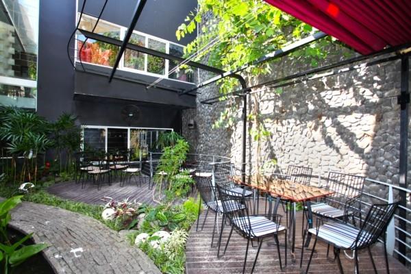 Tư vấn mở quán Cafe nhỏ với những bước cơ bản- cafe san vuon