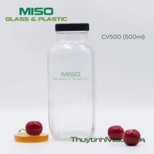 Chai thủy tinh CV500 500ml 4