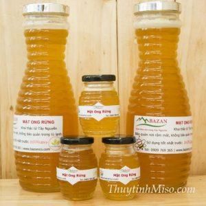 Chai thủy tinh cong ong 1 lít