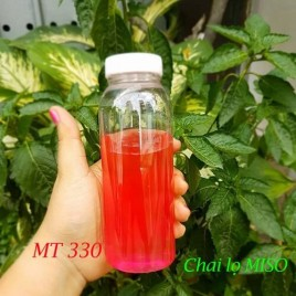 Chai nhựa PET tron co to 330ml 4