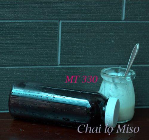 Chai nhựa PET tròn miệng to 330ml 3