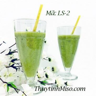 Ly thủy tinh uống sinh tố LS2