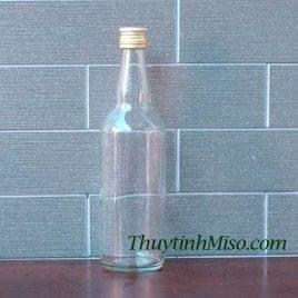 Chai thủy tinh blan 500ml