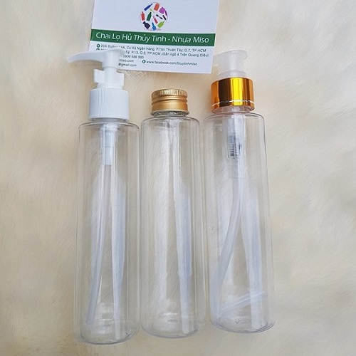 Chai nhựa ấn giọt 2