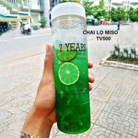 Chai nhua PET TV 500ml