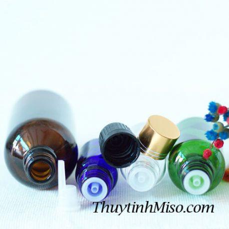Nắp nhựa + nhỏ giọt chai tinh dầu 3