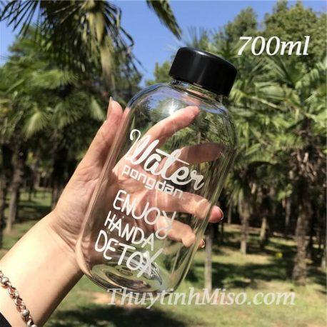 Bình thủy tinh Pongdang 700ml