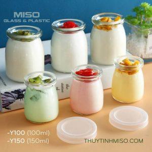 Hũ thủy tinh làm sữa chua 150ml 2