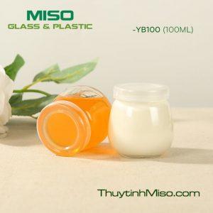 Hũ thủy tinh sữa chua YB 100ml